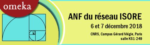 Visuel de l'ANF Omeka du réseau Isore